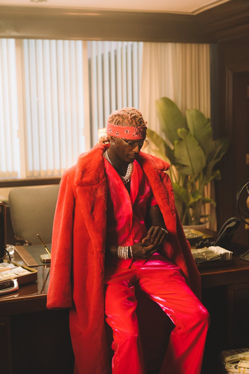 While we wait on the P*NK album, rock out to @youngthug's new single Tick Tock on Spotify now spotify.link/ticktock