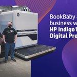 Image for the Tweet beginning: The #HPIndigo 100K Digital Press