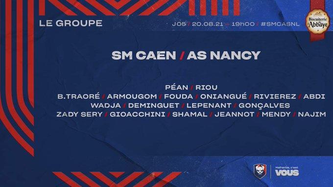 [5è journée de Ligue 2 BKT] SM Caen - AS Nancy Lorraine E9P92_yXsAQjiH8?format=jpg&name=small