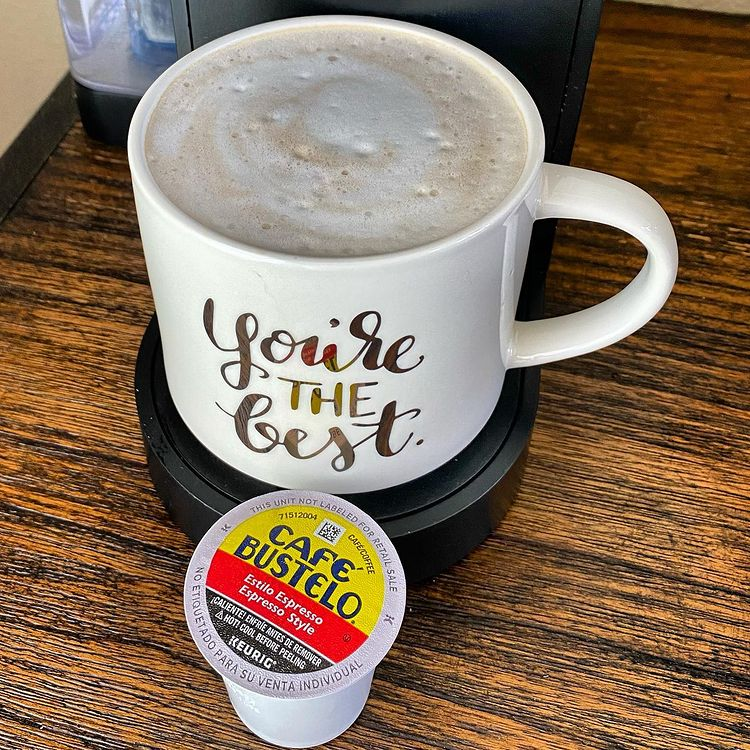 Porque eres especial. Treat yourself to a cafecito this afternoon with our #CafeBustelo @Keurig K-Cup pods. 📷: @revpeterdejesus spr.ly/6016ylULQ