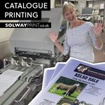 Image for the Tweet beginning: Sheena our print finisher is