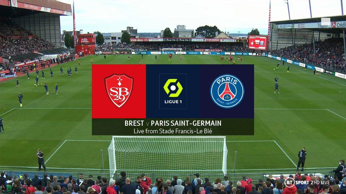 Full match: Brest vs PSG
