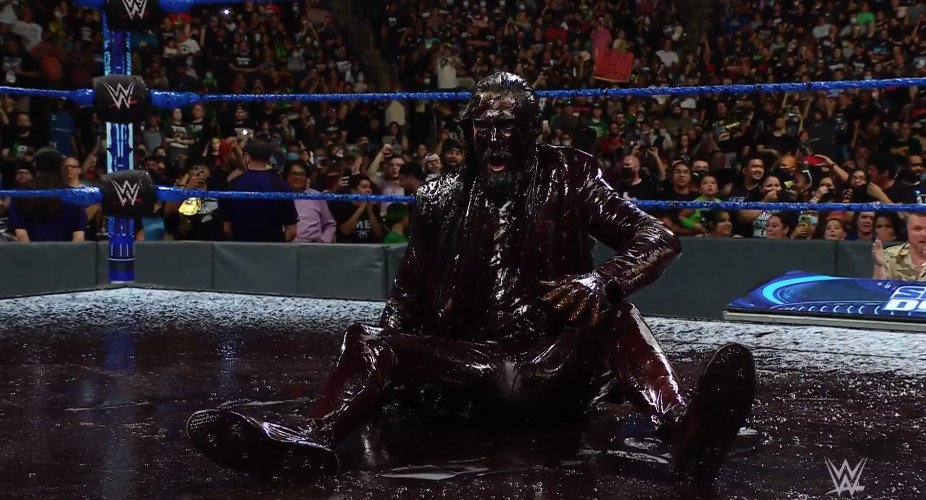 Seth Rollins Got A Brood Bath From Edge
