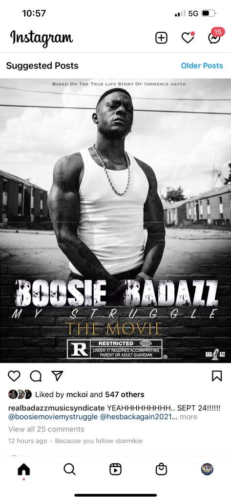 Boosie Badazz On Twitter My Struggle Dropping Sept 24th Https T Co V7wm9wlwhz