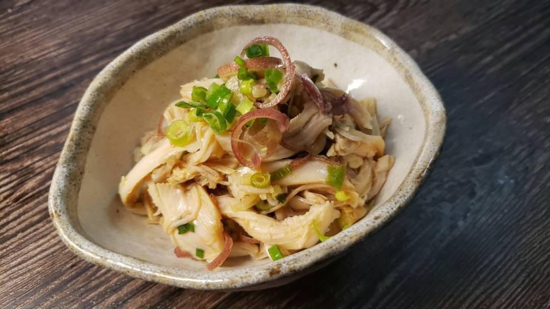 ほとんど混ぜるだけだからとっても簡単そう!「サラダチキン」を使った、おつまみレシピ!