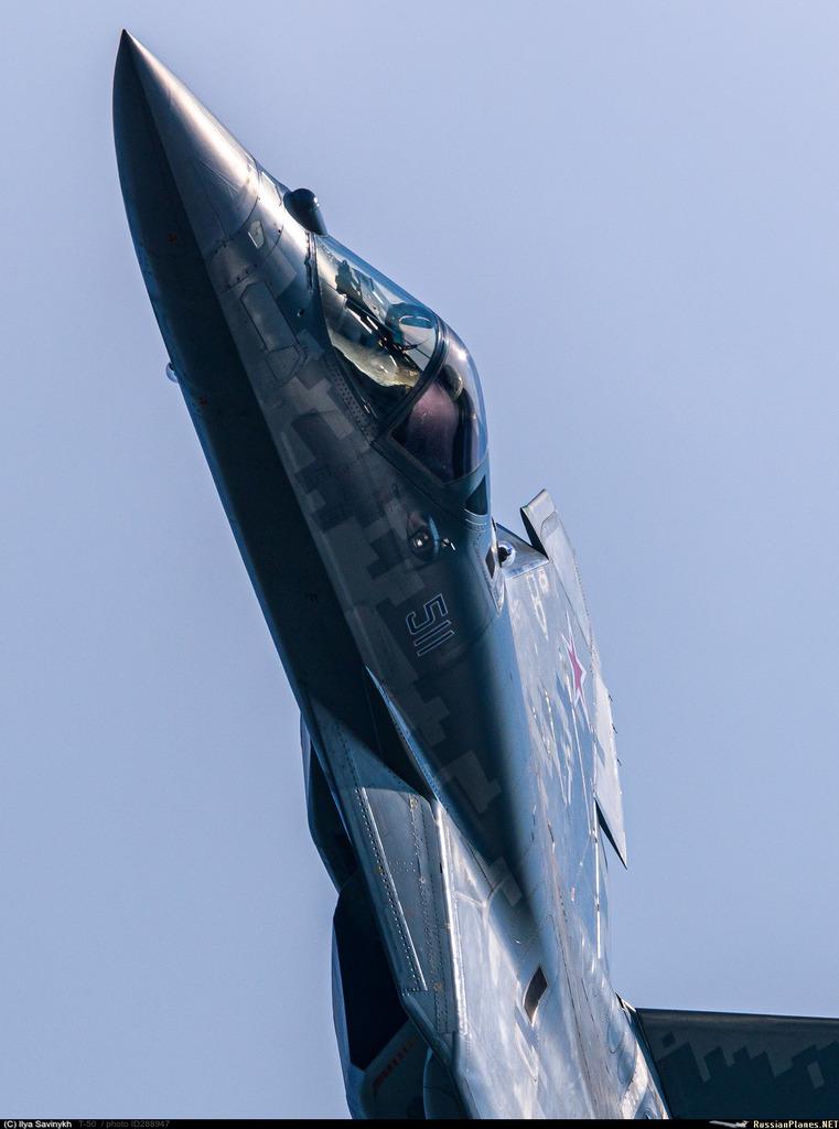 Su-57 Stealth Fighter: News #8 E9SNgDbX0AMYDfp?format=jpg&name=medium