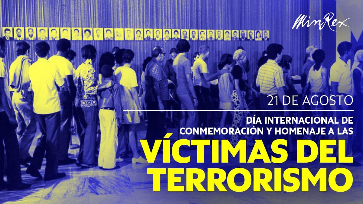 Cuba ratifies condemnation of terrorism