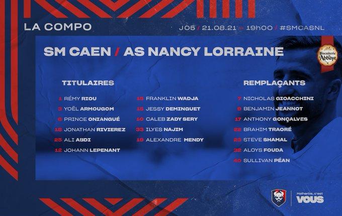 [5è journée de Ligue 2 BKT] SM Caen - AS Nancy Lorraine E9U67YnWUA8dj4M?format=jpg&name=small