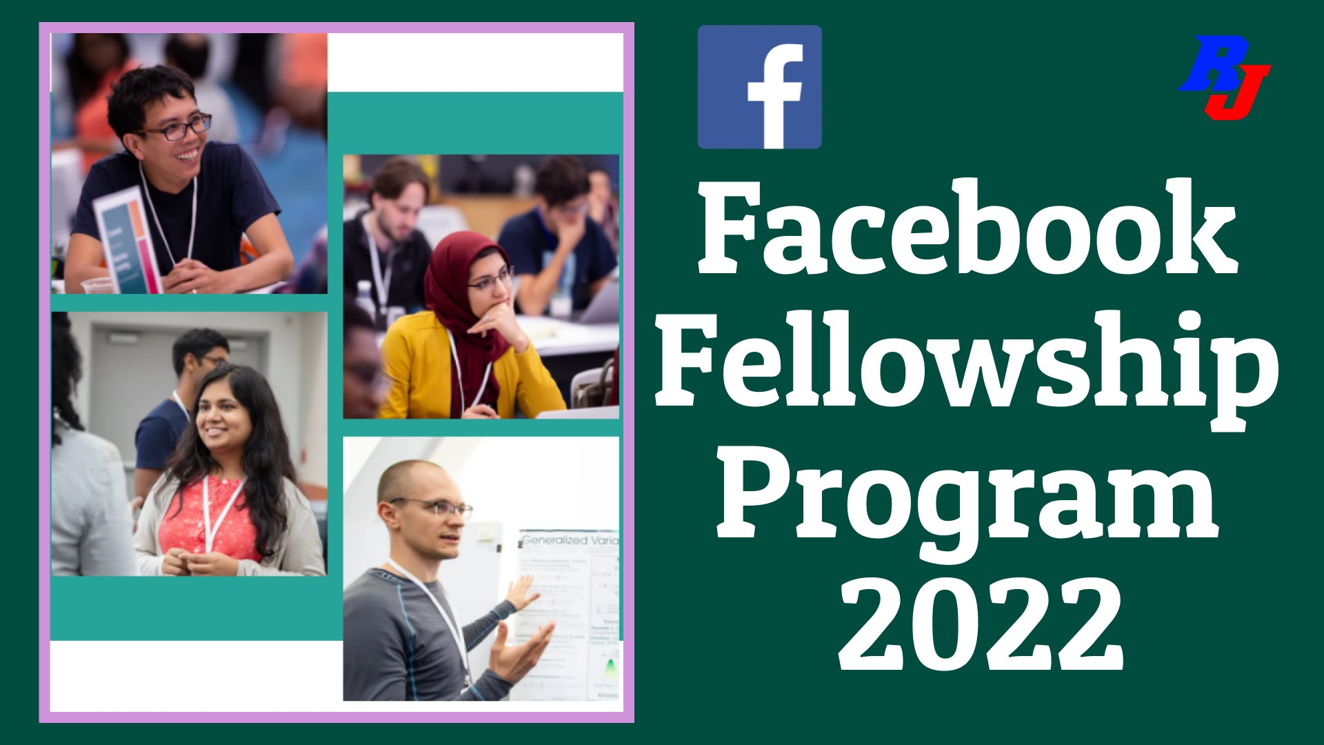 Facebook Fellowship Program for Ph.D. Students in Innovative Research