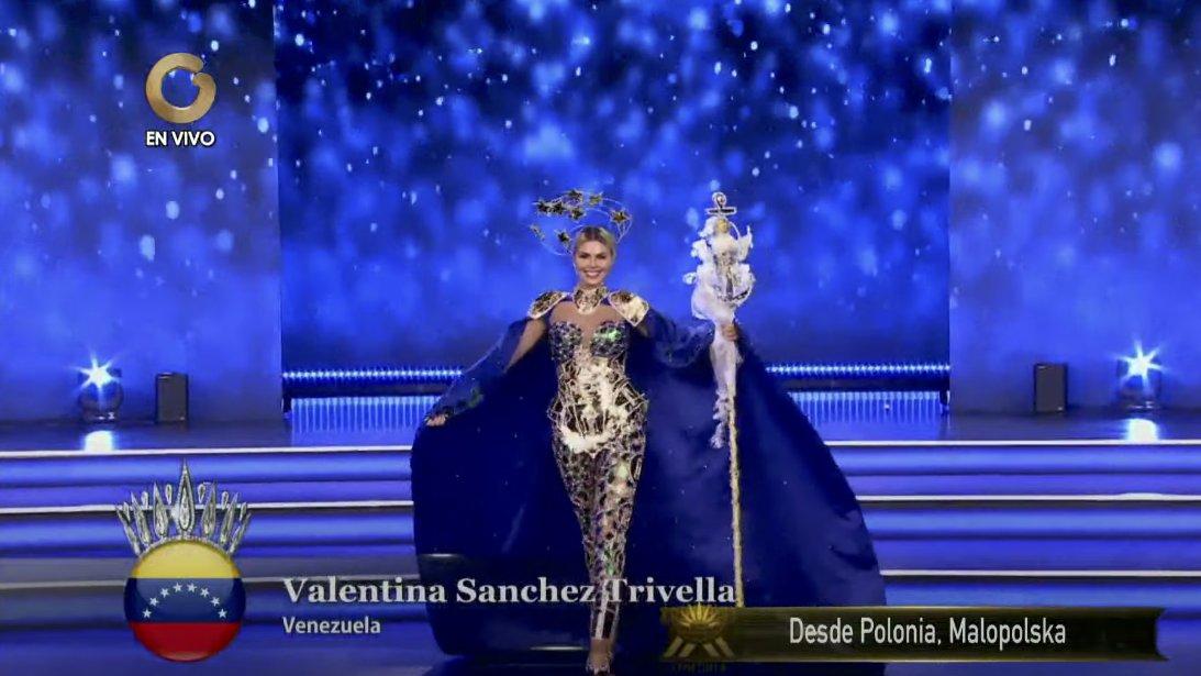 Valentina Sánchez logró un excelente puesto en el Miss Supranational 2021