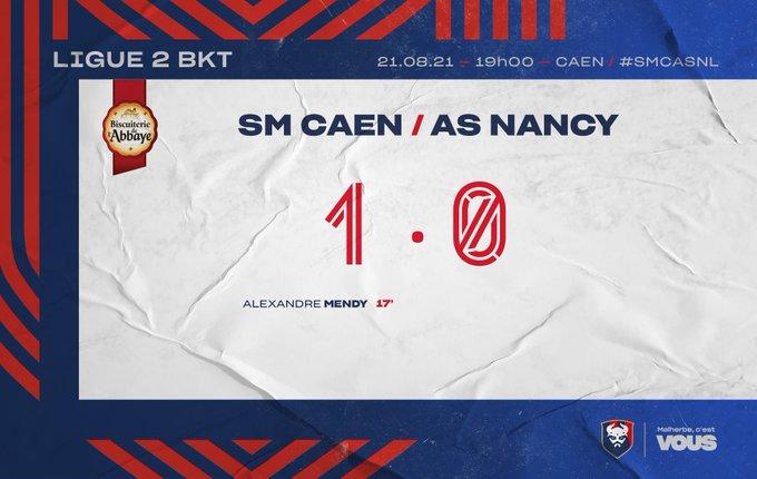 [5è journée de Ligue 2 BKT] SM Caen - AS Nancy Lorraine E9VgY-ZXMAgiFOi?format=jpg&name=small