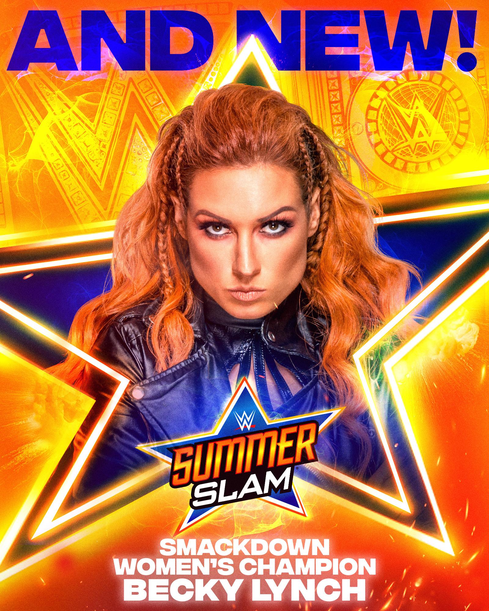 WWE Summerslam 2021: Becky Lynch Returns To Win Smackdown Women's Title 109