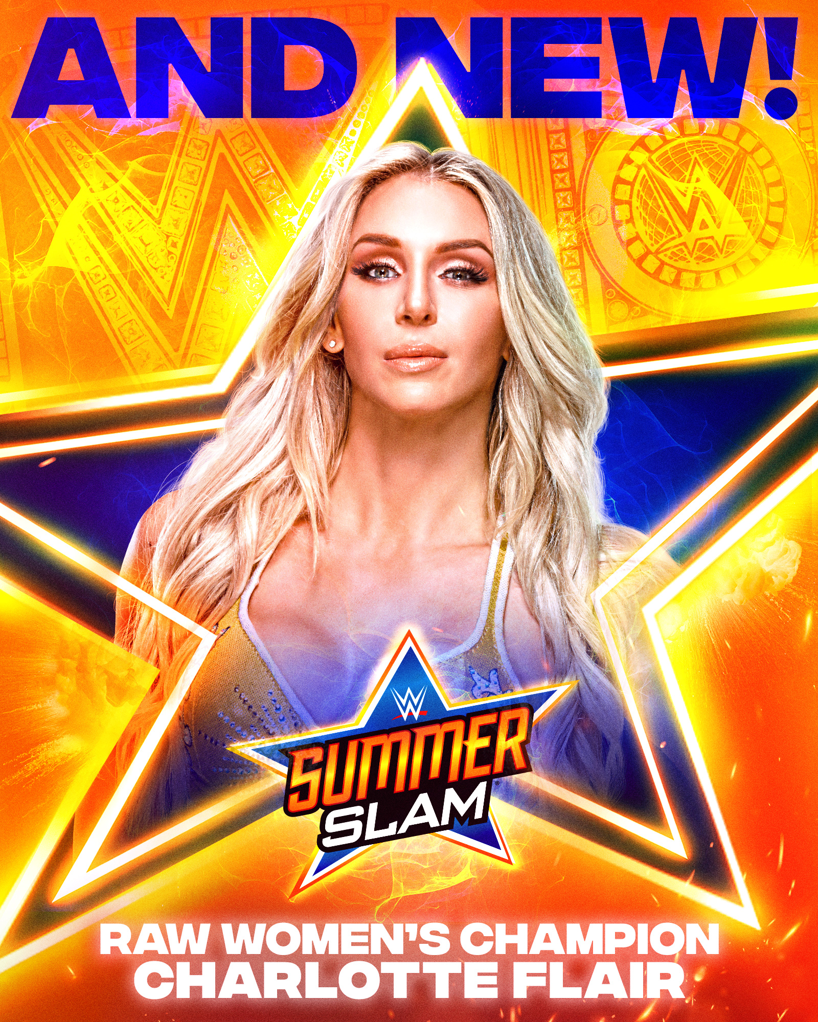 WWE Summerslam 2021: Charlotte Flair Becomes A 12-Time Champion 48