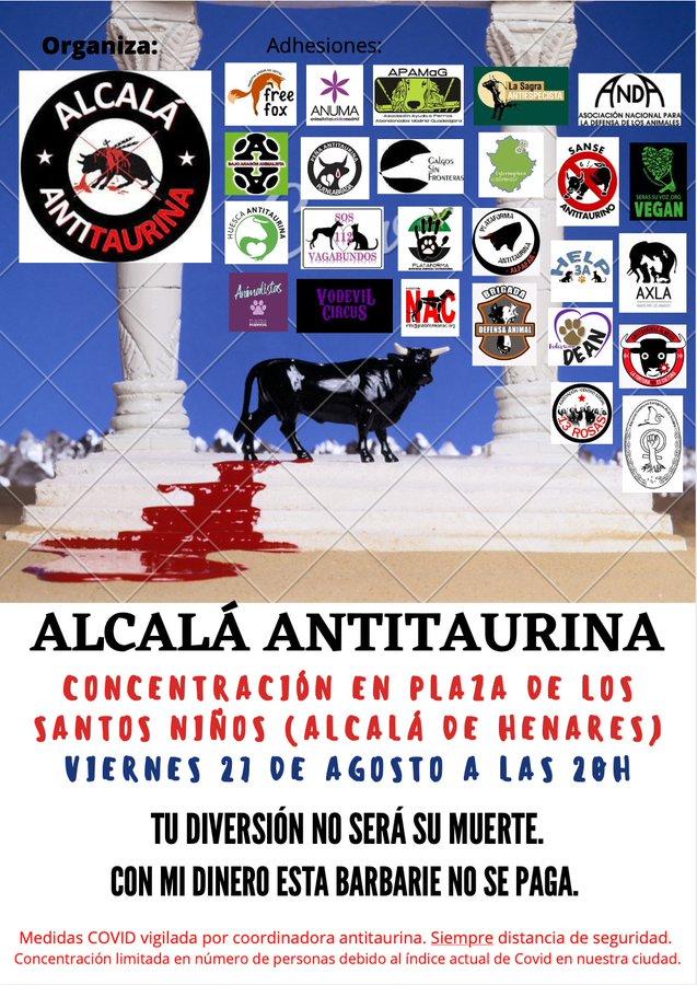 Foto cedida por Alcalá Antitaurina