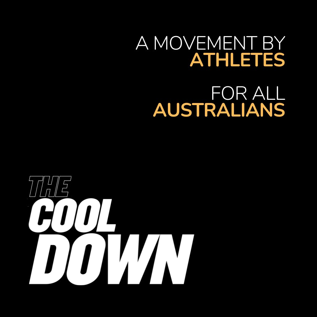 🏆#TheCoolDown is athletes for #climateAction Well done @pocockdavid @catecamp @Mick_Fanning @Craig_Foster @Rohan_Browning #LanceFranklin  #NatFyfe @Tonaaayy_ @LizzyLegsEllis @darcyvee @Bronte_Campbell @Shan_Parry @DaisyPearce6 @libby_trickett + #2030moves https://t.co/m55XTcX4FR