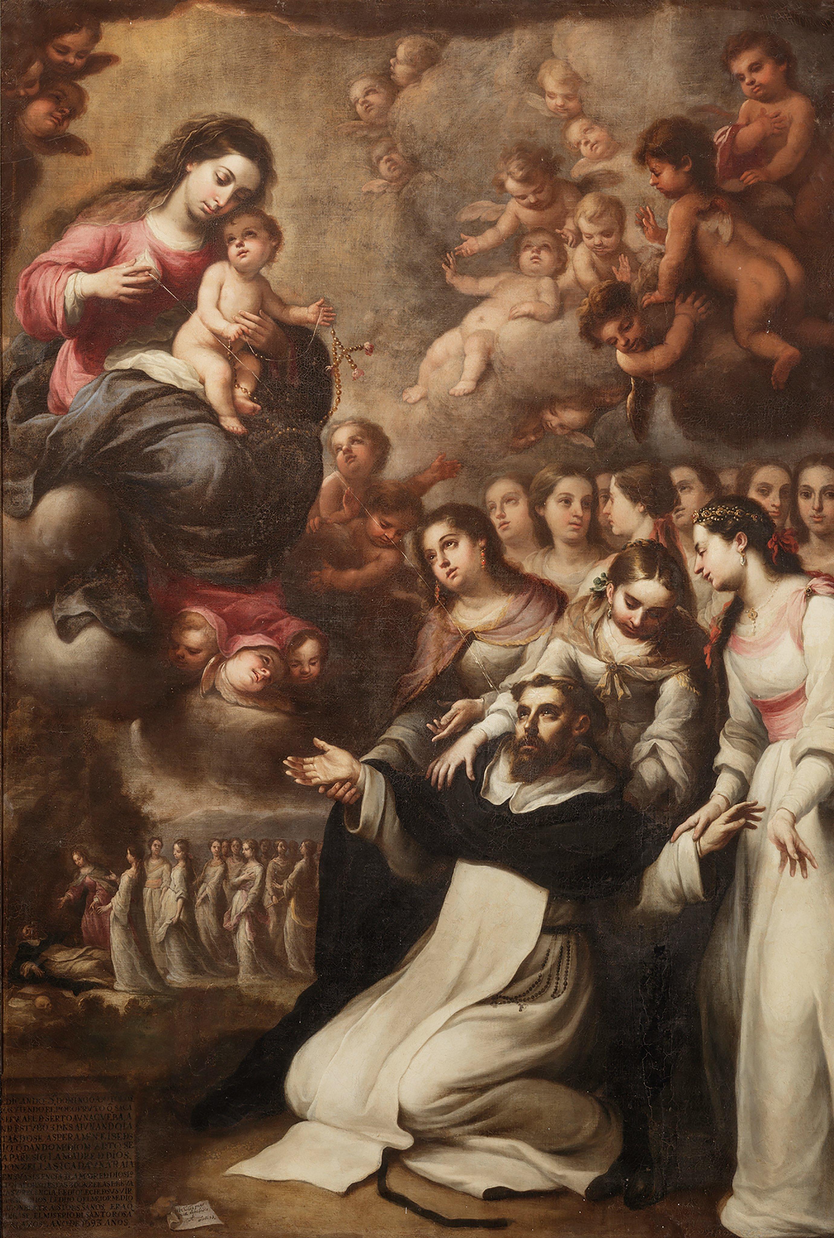 Aparição da Virgem a São Domingos