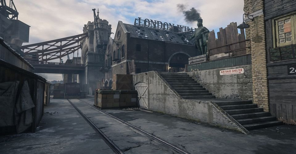 I want THESE maps back for Vanguard