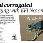 Image for the Tweet beginning: Print21 catches up with #EFI's