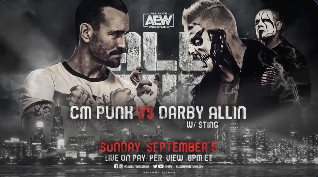 Cartelera AEW All Out 2021 - TeamWWEChile
