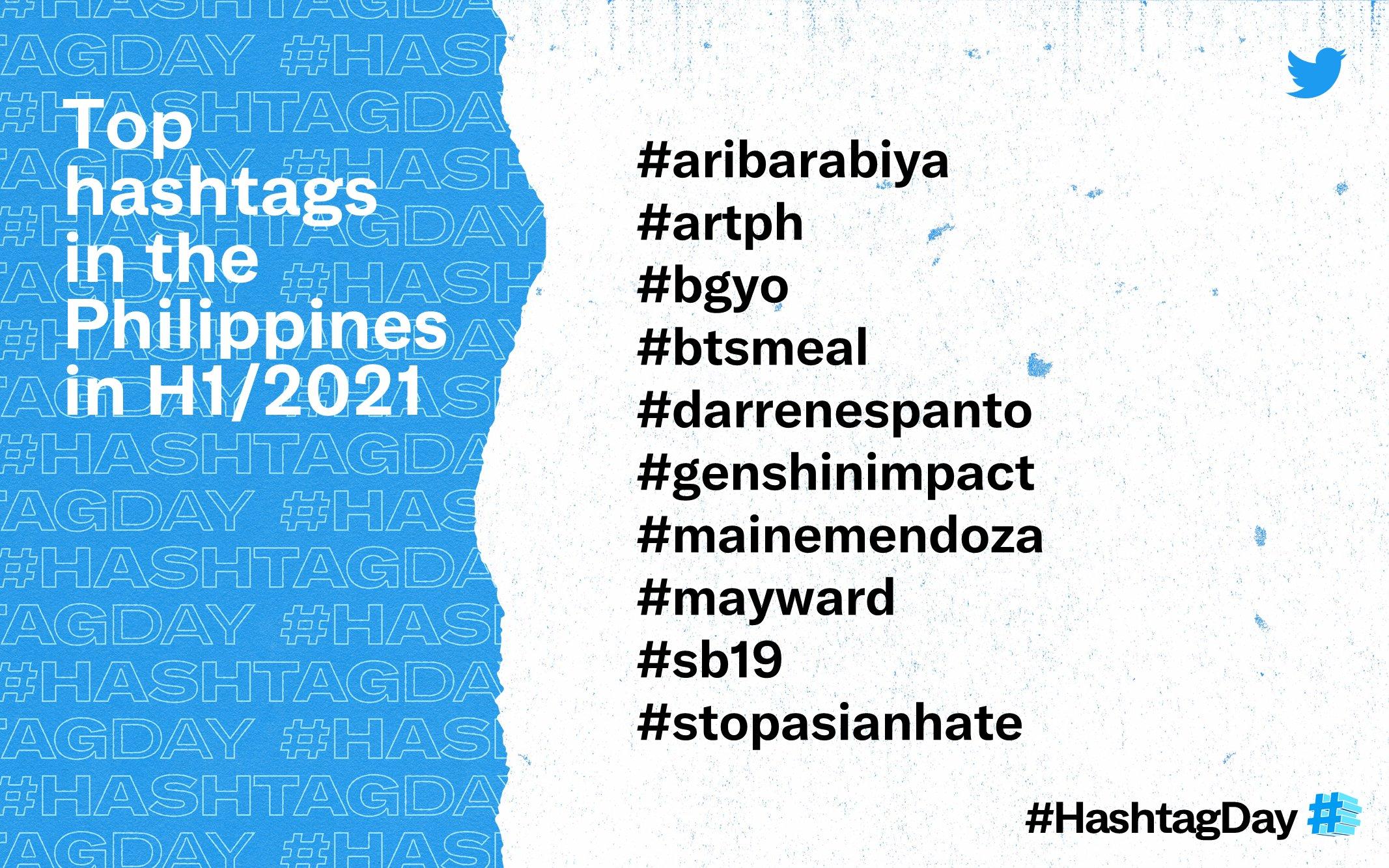 hashtag, <b> Rabiya Mateo is Filipino Twitter&#8217;s most hashtagged topic in 2021 so far </b>