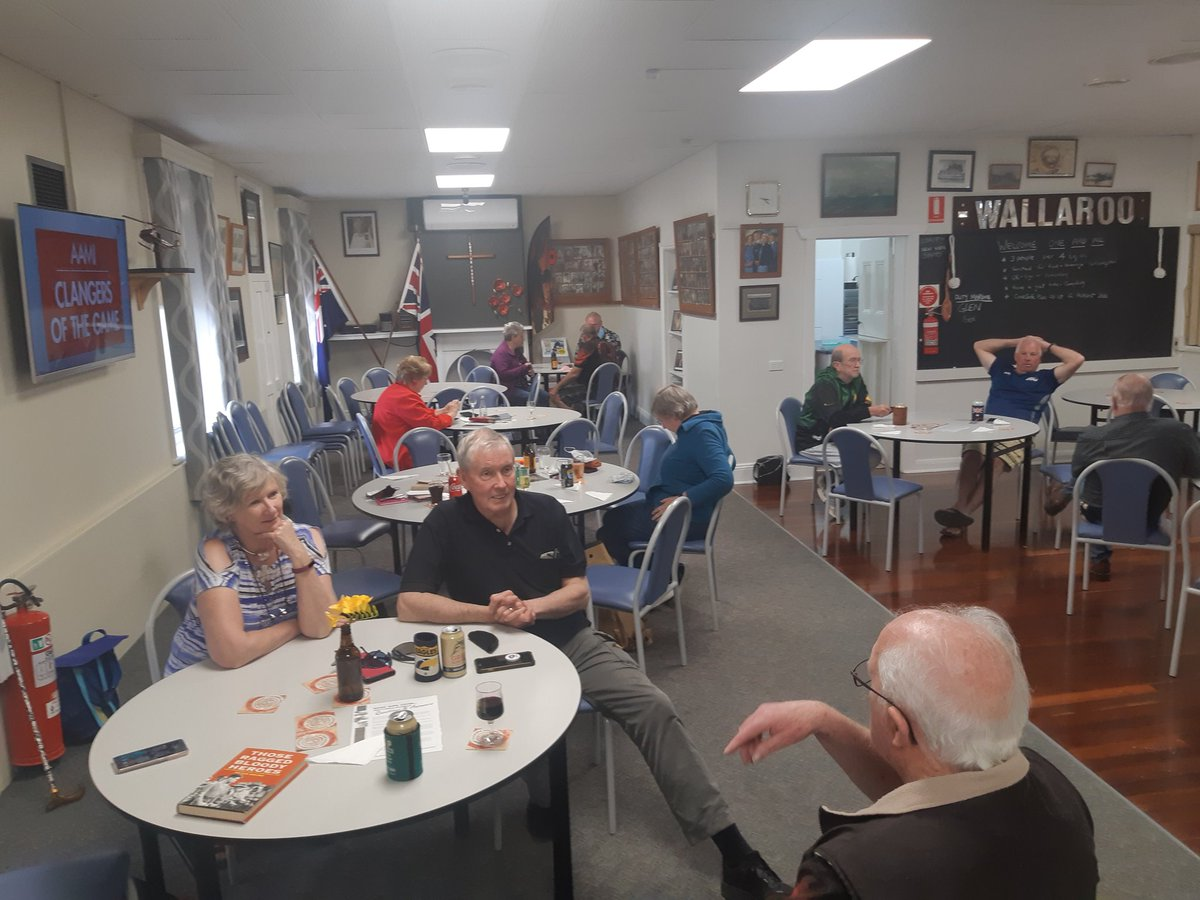 test Twitter Media - Wallaroo RSL president and members welcome visitors to the Copper Triangle to enjoy their hospitality. https://t.co/33GW7TomD9