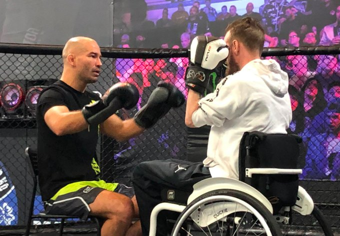 RT @TheMacLife: Artem Lobov to battle Paddy Holohan in charity wheelchair boxing match |