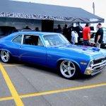 God bless America. Joe's @DutchboysHotrod #protouring #Chevy #Nova embodies the homeland spirit on #forgeline #FF3C #openlug! https://t.co/DE8YLMoJhg