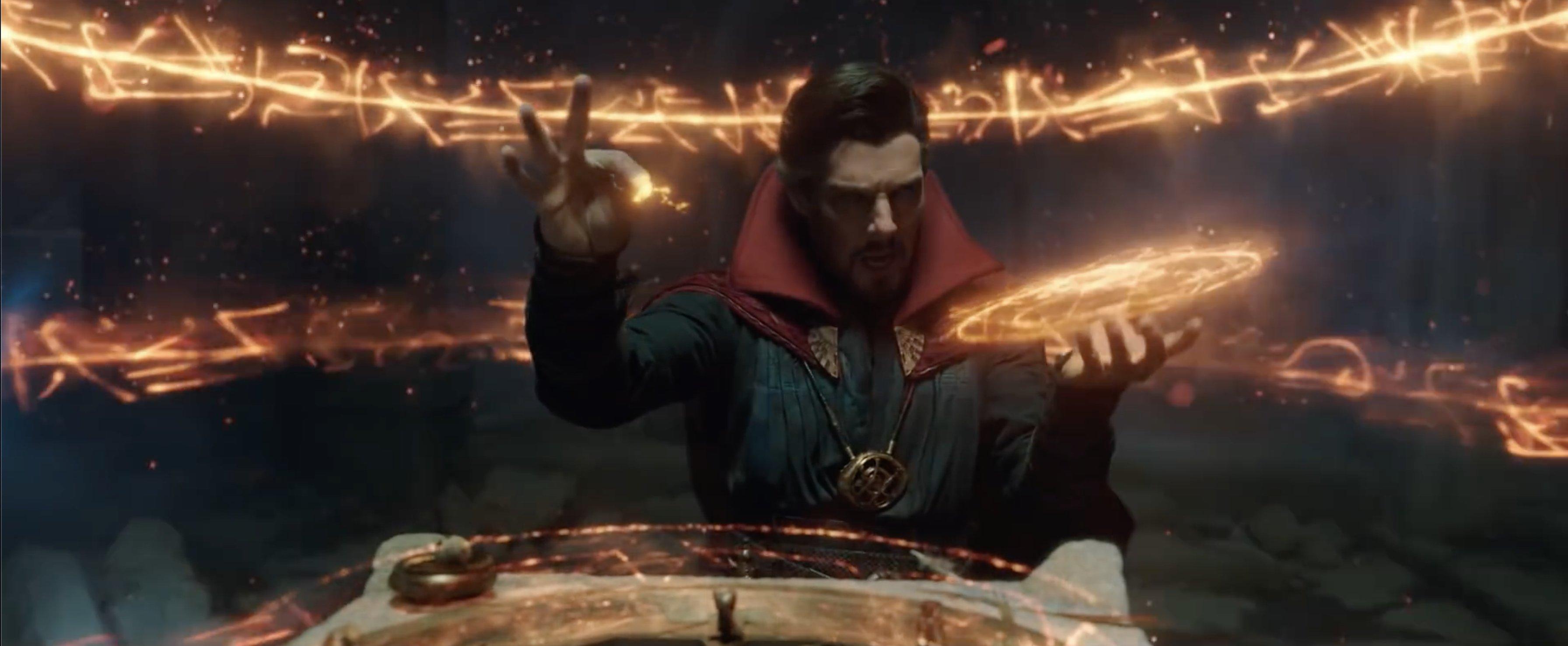 """Doctor Strange in """"Spider-Man: No Way Home"""" trailer"""