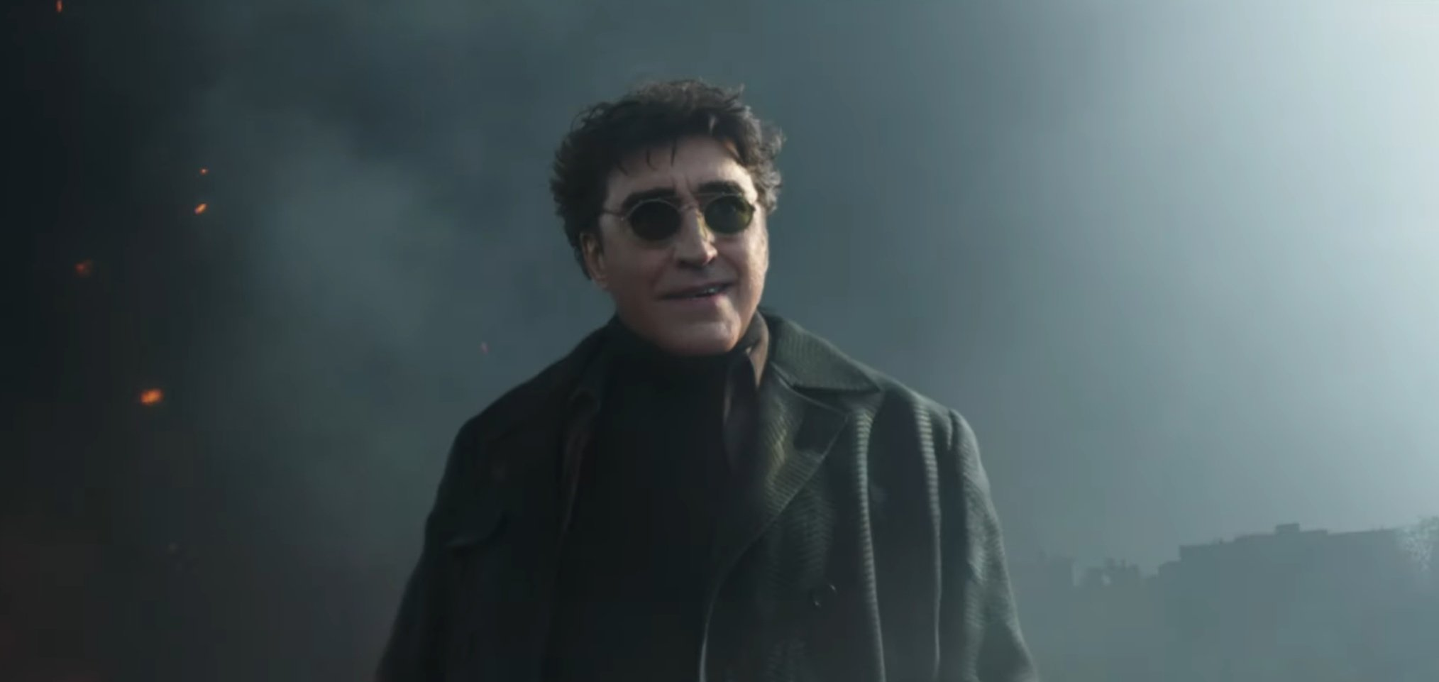 """Doctor Octopus (Alfred Molina) in """"Spider-Man: No Way Home"""" (2021)"""