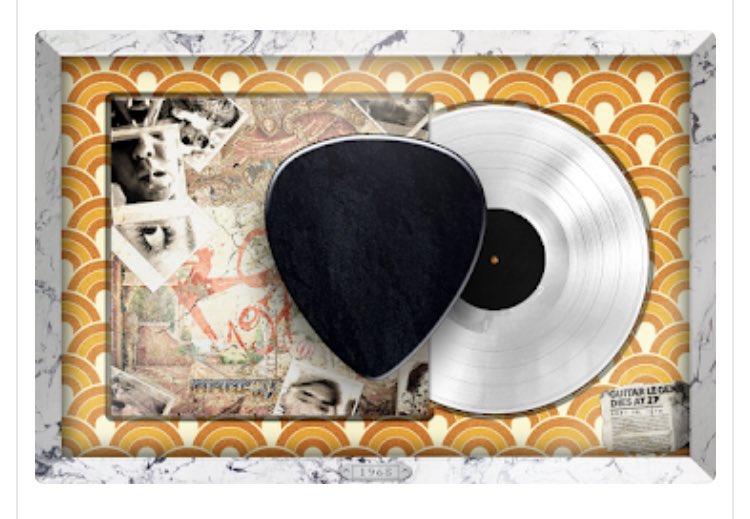 Jimi Hendrix paper clipping. Pretty sick piece. #ToolsOfRock
