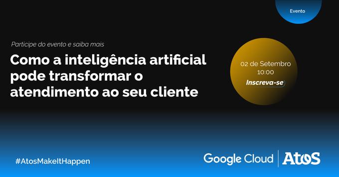 Junte-se aos especialistas da @Atos, @GoogleCloud_BR e @GrupoPadrao para mais um Workload Day e...