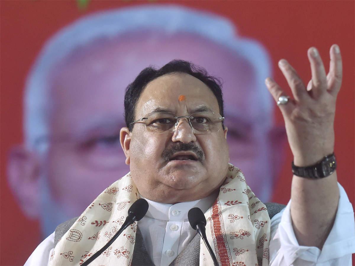 भाजपा अध्यक्ष जगत प्रकाश नड्डा ने कश्मीर और पाकिस्तान पर पंजाब के कांग्रेसी नेताओं की टिप्पणी की निंदा की