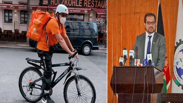 Ex-Afghan IT #Minister turns food delivery staff in #Germany trinitymirror.net/news/ex-afghan… #Afghanishtan #Talibans