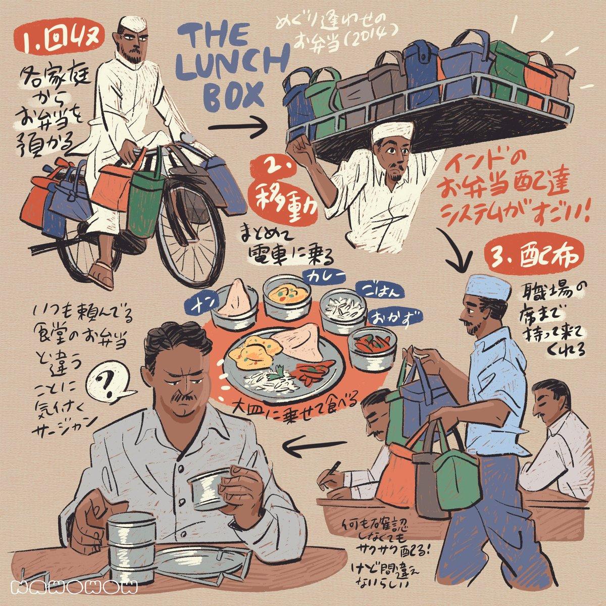 インド映画好きと料理映画好きにおすすめ!アマプラで観られる『めぐり逢わせのお弁当』!