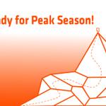 Image for the Tweet beginning: Peak Season at our door