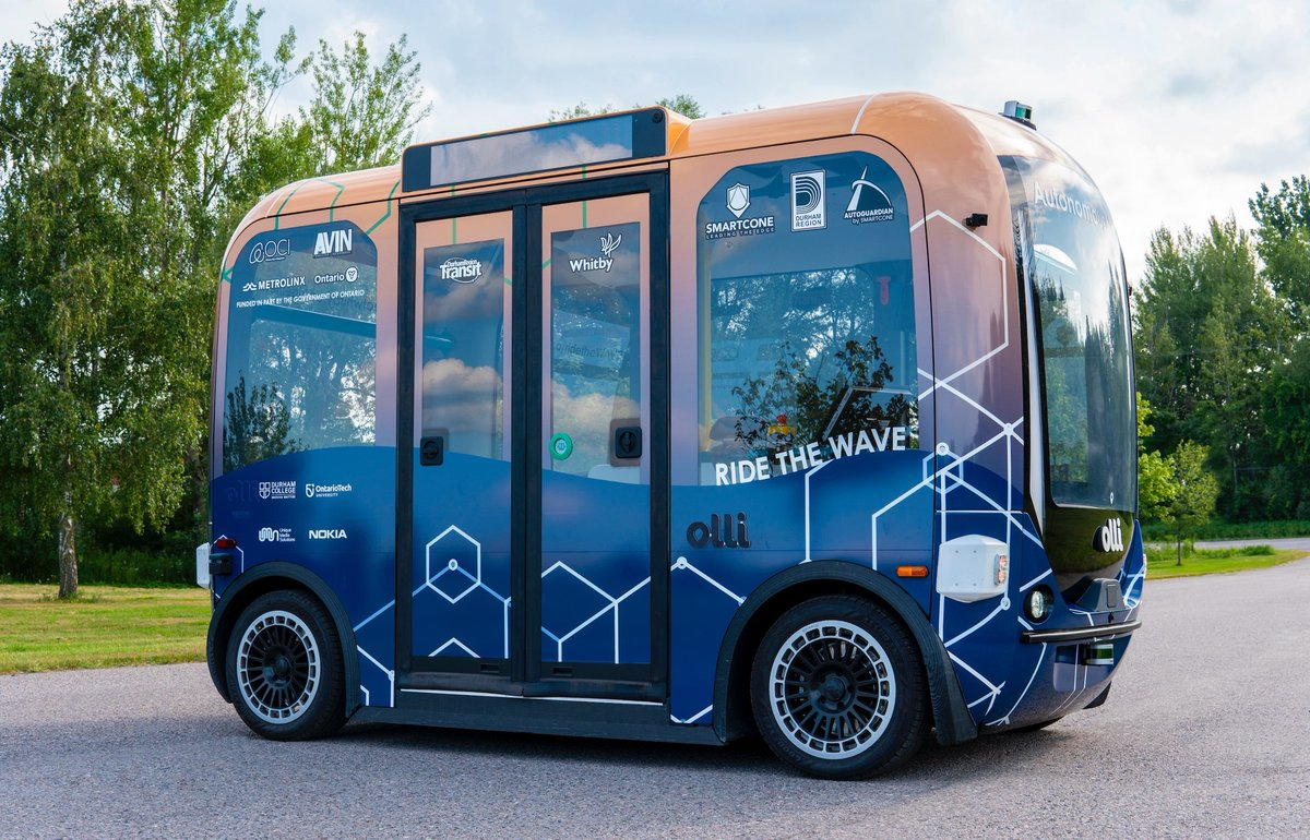Exciting news! Thanks to the @ONgov through #AVIN, @AutoguardianSC, @SmartConeTech, @TownofWhitby, @RegionofDurham, @Durham_Transit, @Metrolinx, @NokiaCanada and others are commercializing & piloting technology for safer and more sustainable #transit. @C_Mulroney @VictorFedeli