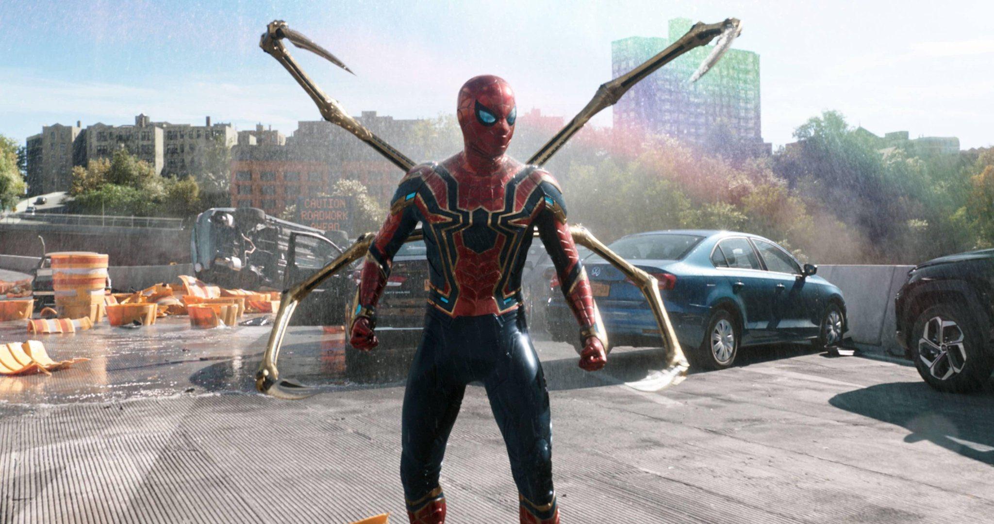 """Tom Holland as Peter Parker/Spider-Man in """"Spider-Man: No Way Home"""" (2021)"""