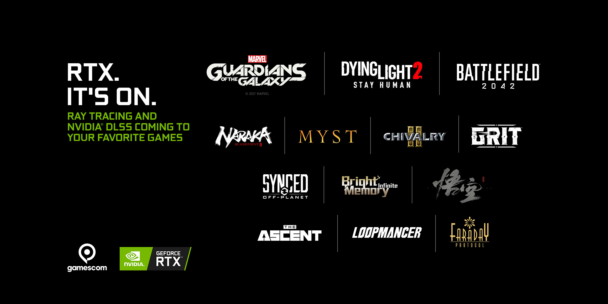 New games coming with Ray Tracing and Nvidia DLSS support