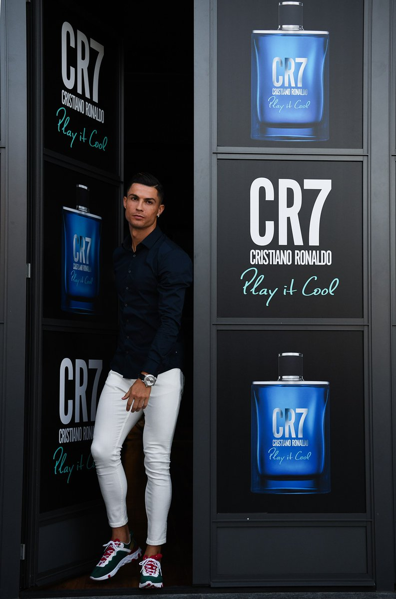 Start the day with a fragrance that matches your style! #CR7PLAYITCOOL