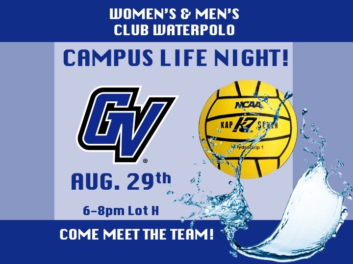 Photo 2 of 2 on twitter from user @GV_WaterPolo.