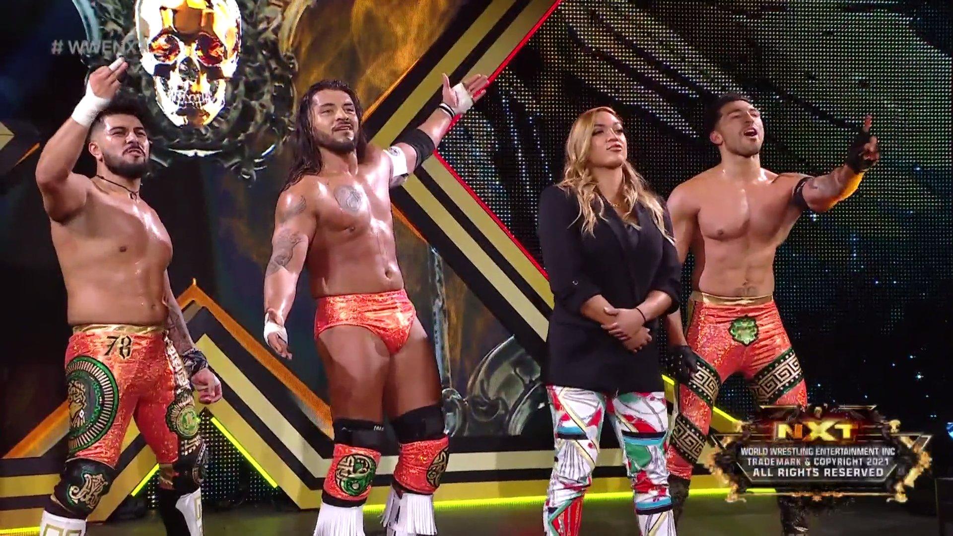 WWE NXT Results (24/08/21): Six-Man Tag Team Match; BreakOut Tourney Final 65