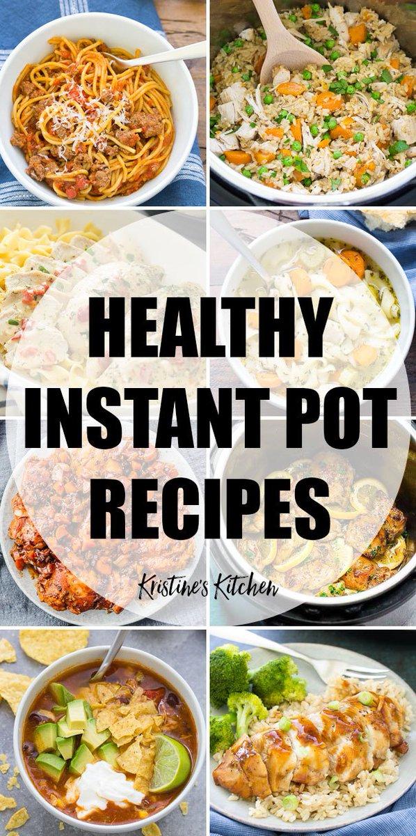 29 Healthy Instant Pot Recipes (Quick & Easy)