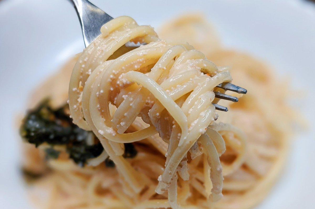パスタ好きさんは是非!ガーリック×明太子×パスタのとっても美味しそうな料理のレシピ!