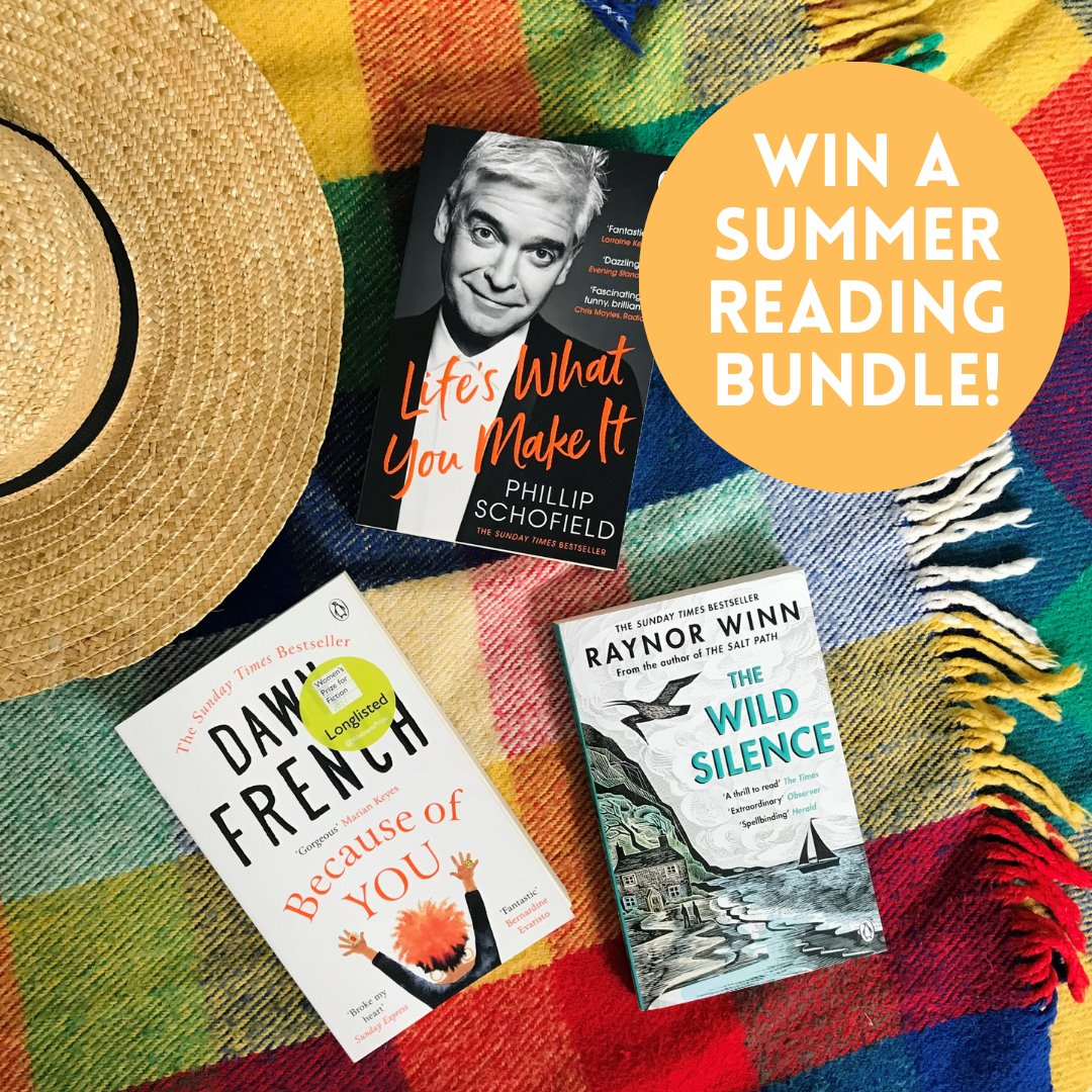 We've teamed up with @ILoveCornwallUK to give you the chance to win a summer reading bundle featuring titles from @Schofe, @raynor_winn & @Dawn_French! ☀️📚 Enter here now: visitcornwall.com/trio-cornish-b…