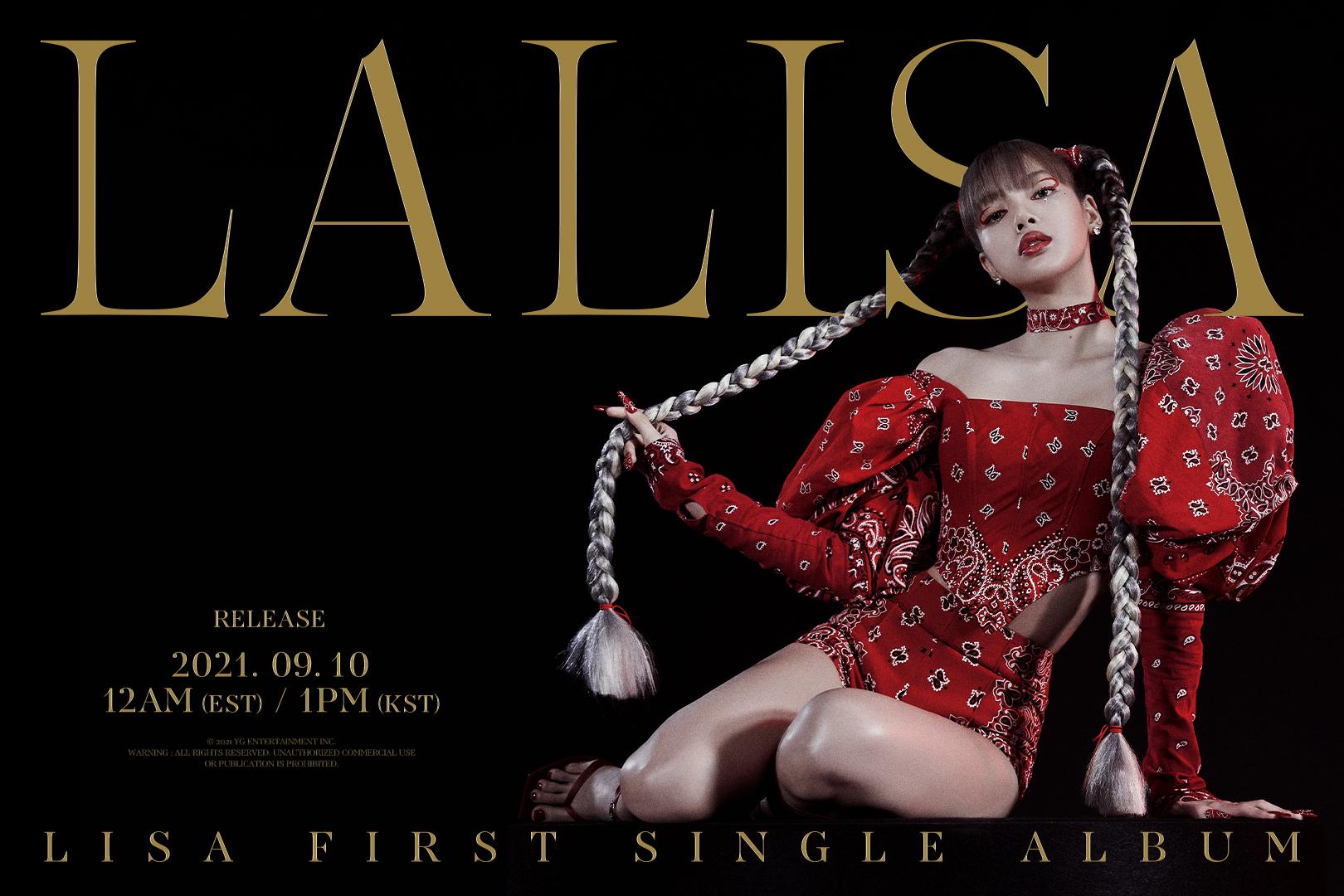 """Universal Music BR on Twitter: """"As quartas-feiras nós surtamos com o  anúncio do single álbum da Lisa do @BLACKPINK 🤩 #LALISA chega em todas as  plataformas digitais no dia 10 de setembro.…"""