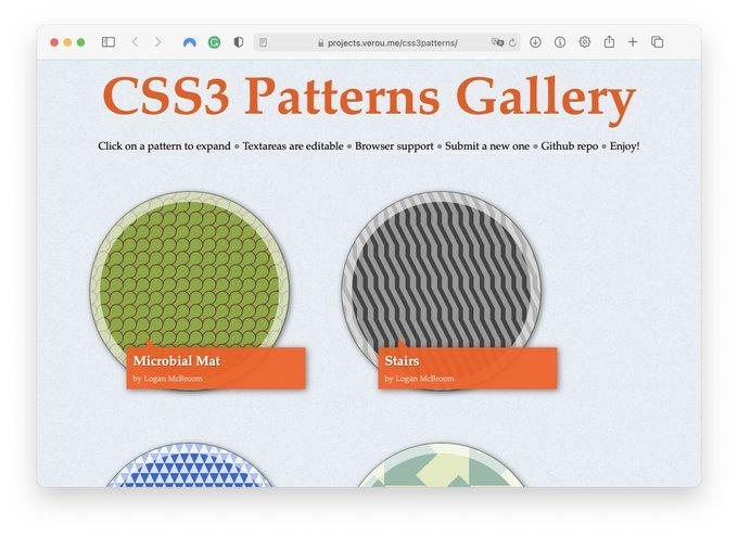 CSS Patterns