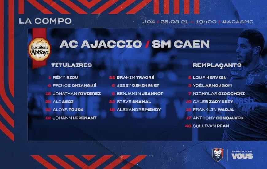 [4è journée de L2 BKT] AC Ajaccio - SM Caen E9pfTiSWEAAQArO?format=jpg&name=900x900