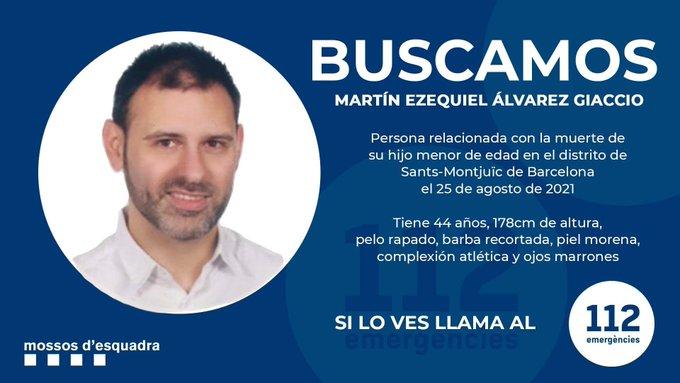 Escapó el argentino acusado de asesinar a su hijo de dos años en España