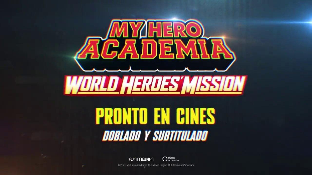 My Hero Academia: World Heroes Mission mexico latinoamerica