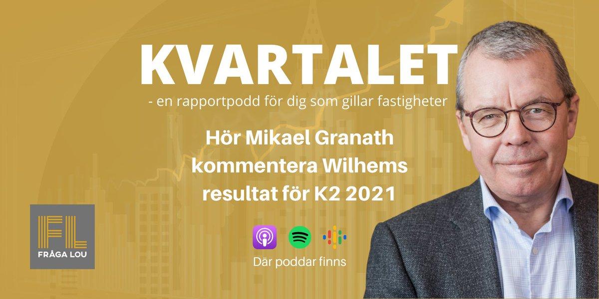 Lyssna på Kvartalet där vår vd Mikael Granath kommenterar Willhems andra kvartal 2021. I intervjun diskuteras även läget på bostadsmarknaden och den stora efterfrågan på bostäder. Podden hör du här: https://t.co/q0tcAldeu5 #kvartaletrapportpodd https://t.co/gmj2OOXhmH